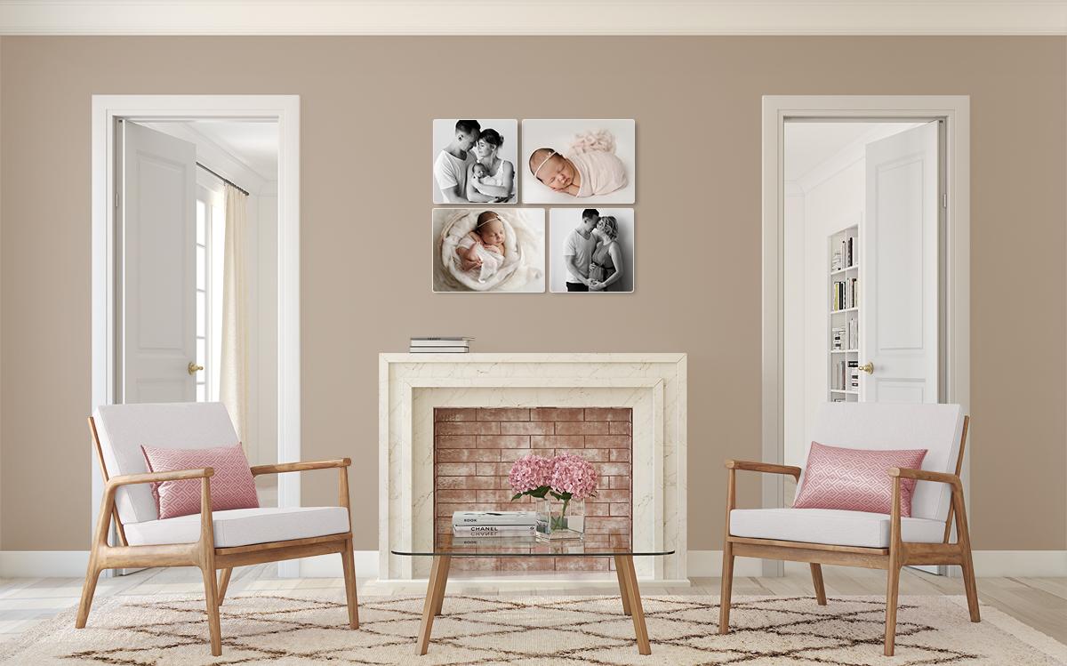 julia oehme fotografie babyfotograf leipzig collage holzbilder leinwand